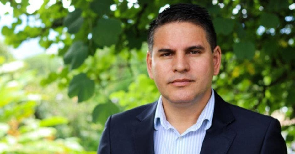 Fabricio Alvarado, candidato de Nueva República. Archivo/La República.