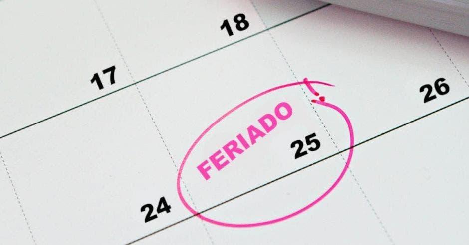 ¿Cuáles son los feriados para lo que resta de 2021 y el 2022?
