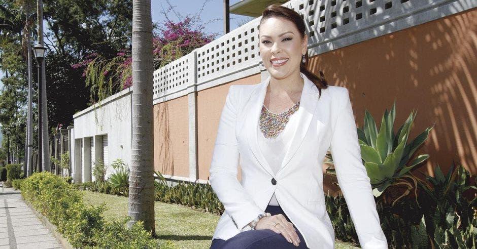 Shirley Calvo, directora ejecutiva de Canatur, sería electa por el primer lugar de Alajuela. Archivo/La República.