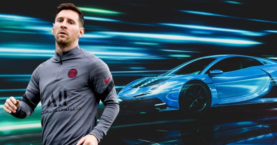 Lionel Messi colecciona autos de lujo