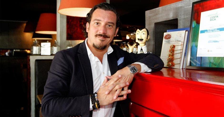 Marco Antonio Ganoza, de la Asociación de Productores y Cocineros Locales