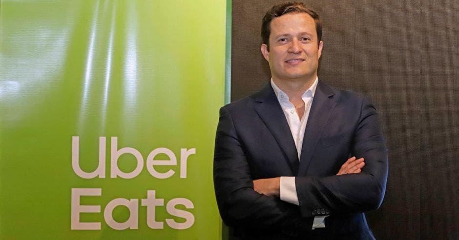 Daniel Monge, gerente de Uber Eats.