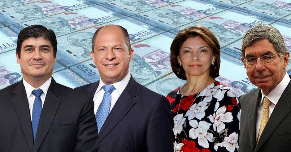 El mayor crecimiento en la cantidad de burócratas – unos 19.000 – ocurrió en los primeros tres años de la administración de Oscar Arias. Elaboración propia/La República.