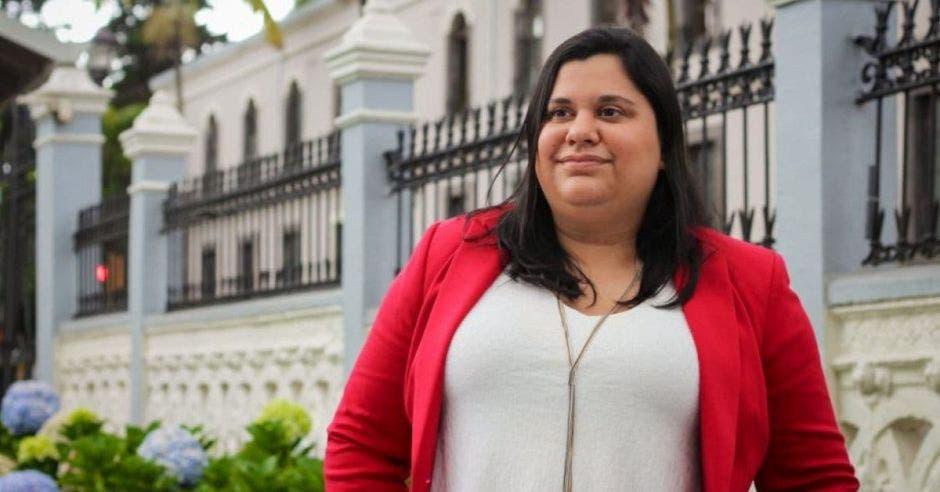 Paola Vega, diputada del PAC. Archivo/La República.
