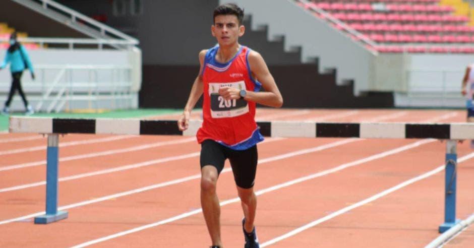 Paulo Gómez, atleta costarricense