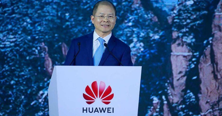 Eric Xu, presidente rotativo de Huawei.