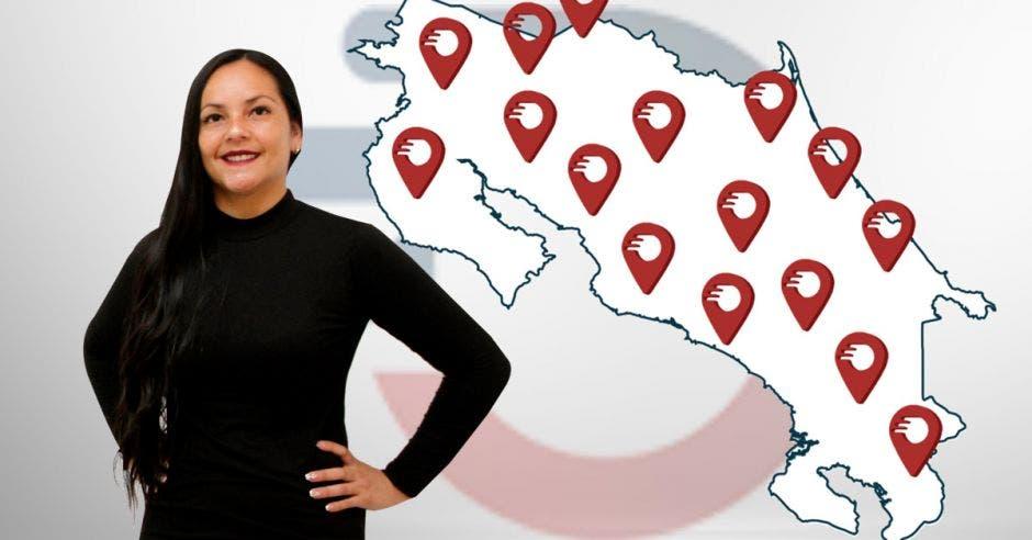 Bianca Alemán, Responsable de expansión de Moovin.