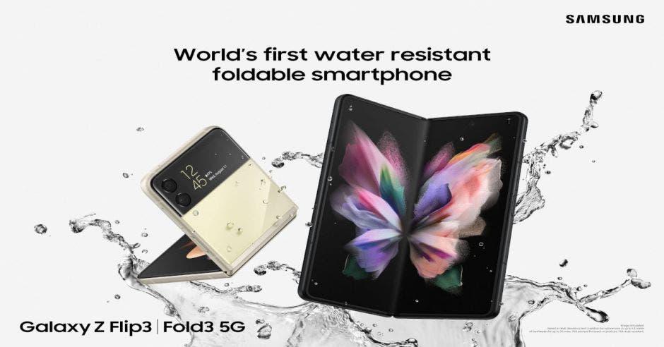 Galaxy Z Fold3 y Z Flip3 de Samsung