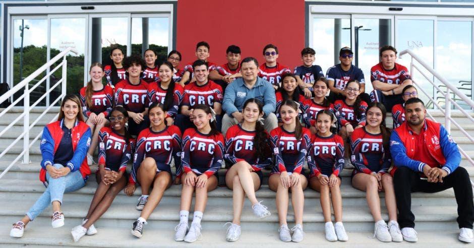 Selección de porrismo de Costa Rica Junior Coed Advance