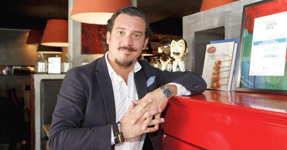 Marco Ganoza, chef