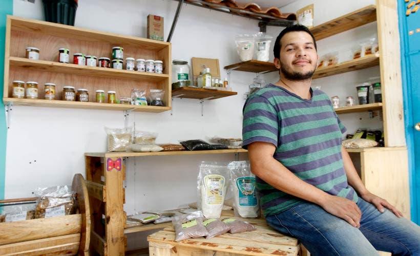 Ricardo Castillo, fundador de Mi Huerta Trade Market. 06 Octubre, 2016. Esteban Monge/La República