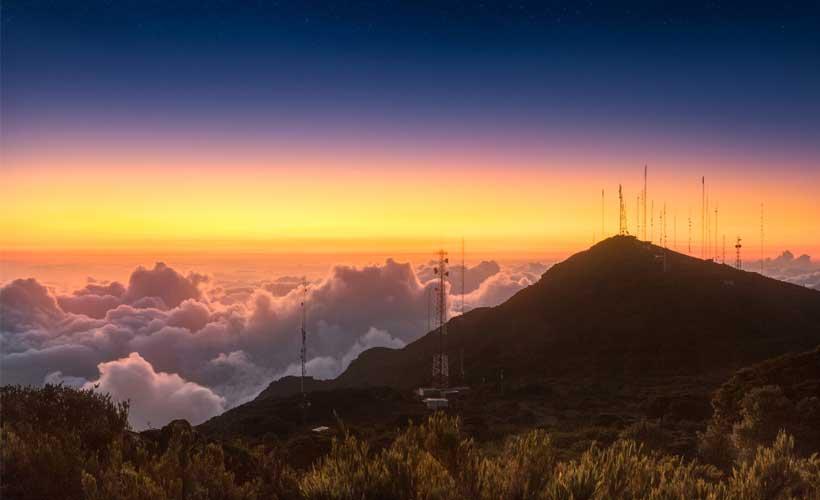 Cerro de la Muerte. Fotografía  de Luis Solano Pochet