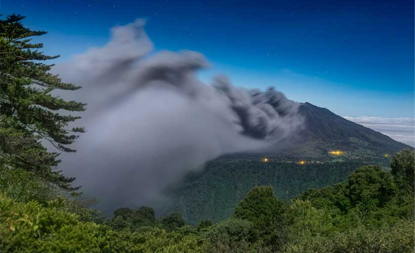 Volcán Turrialba. Fotografía  de Luis Solano Pochet