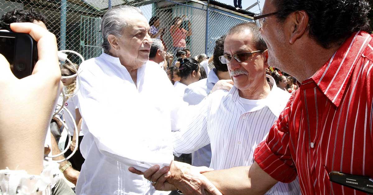 Abel Pacheco, expresidente de la República. Esteban Monge/La República.