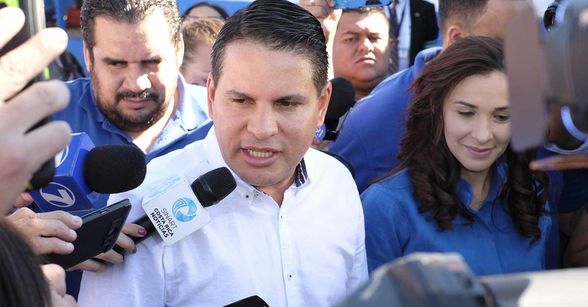 Fabricio Alvarado. Ariela Muñoz/La República.
