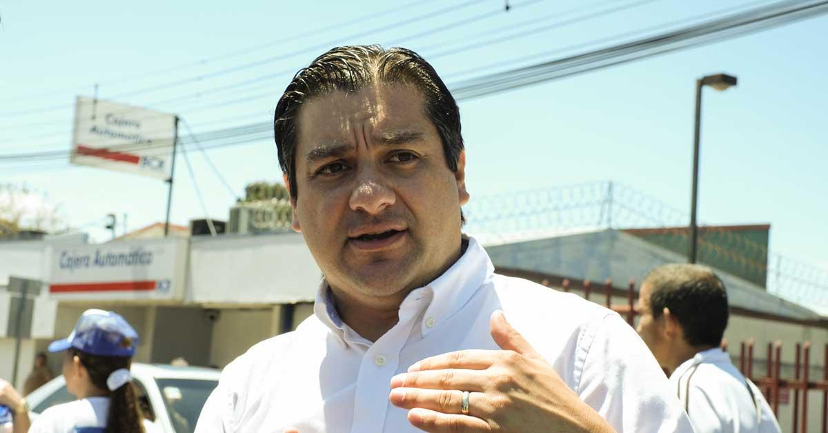 Sergio Mena, excandidato presidencial de Nueva Generación. Ariela Muñoz/La República.