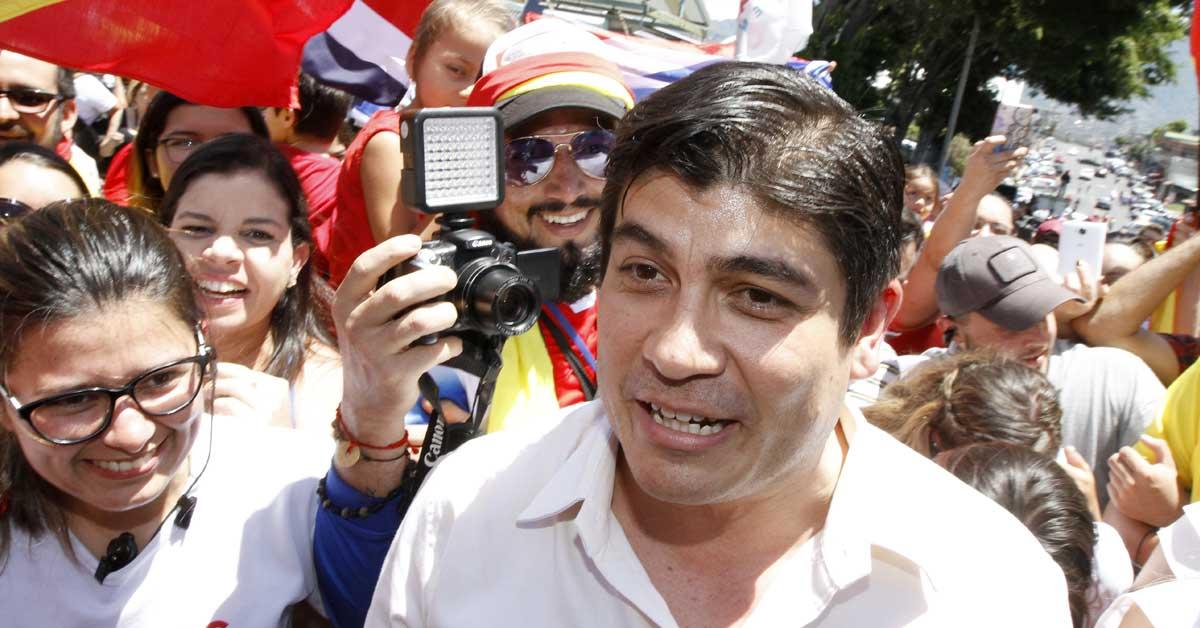Carlos Alvarado. Esteban Monge/La República.