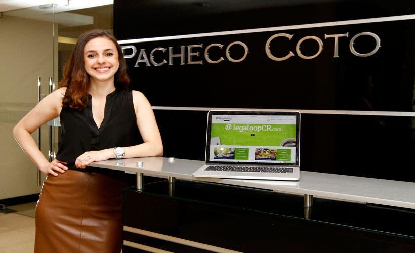 Ana Sáenz, gestora del proyecto y abogada de Pacheco Co. 21 Octubre, 2016. Esteban Monge/La República.