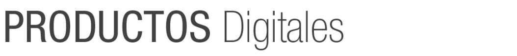 productos digitales