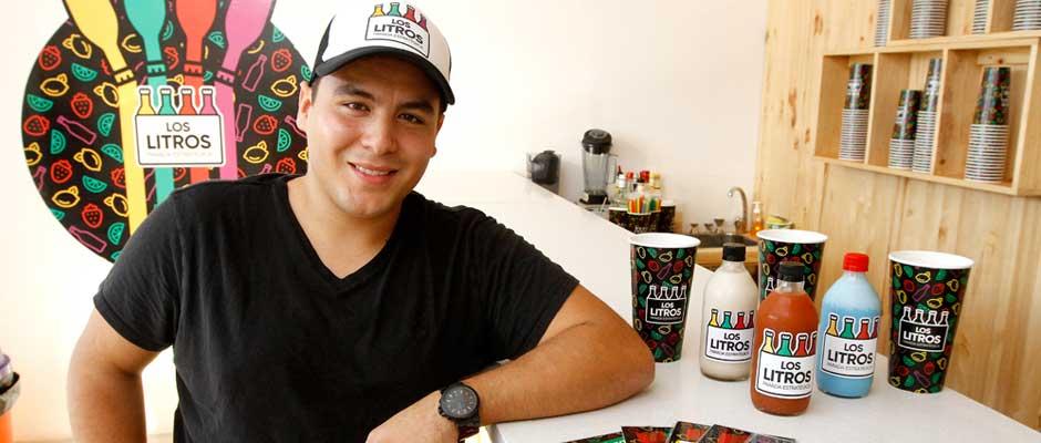 Los Litros innova en sector de bebidas