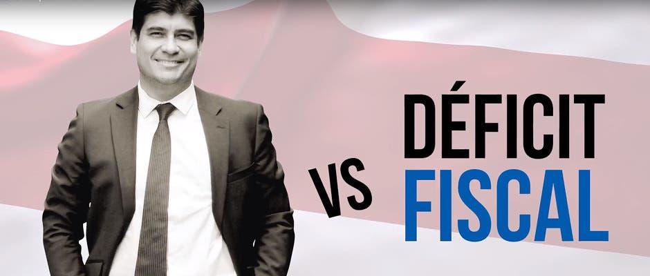 Carlos Alvarado vs Déficit fiscal