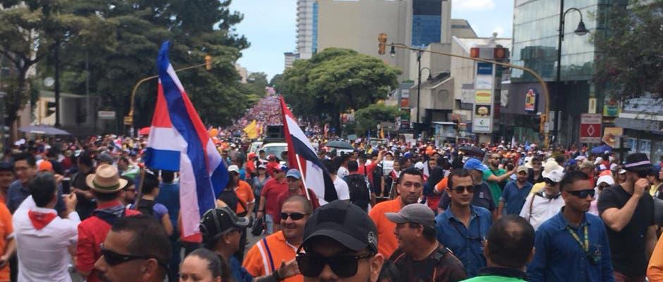 """Óscar Campos, representante Conarroz: """"Esta huelga es una huelga multicolor"""""""
